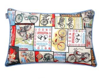 We Love Beds Cushion Bike Pillow Case