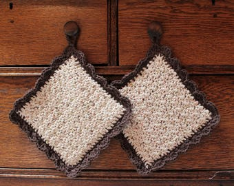 Crochet potholder set