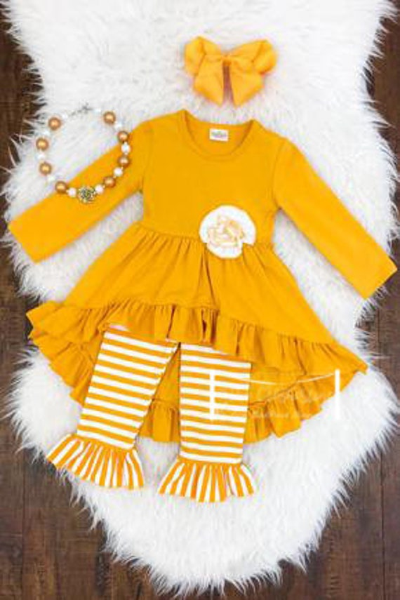 The Rosette Ruffle outfit