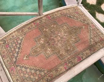 "Turkish rug,deco rug,vintage rug,floor rug,hallway rug,interior rug,desing rug,carpet,anatolion rug.3""7x6""2ft.floor rug,oushak rug,rugs"