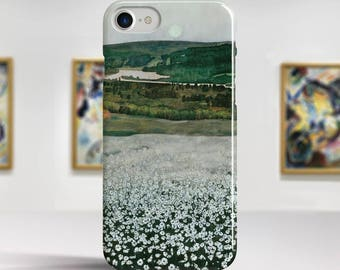 "Harald Sohlberg, ""Flower Meadow in the North"". iPhone 7 Case Art iPhone 6 Case iPhone 8 Plus Case and more. iPhone 7 TOUGH cases."