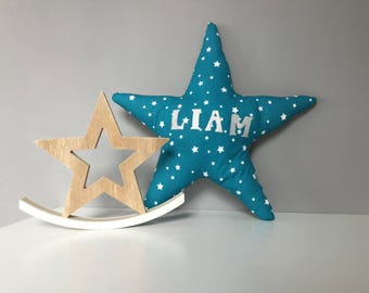 Cushion star name liam, ask your first name
