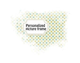 Made on demand - Personalize picture frame photo frame