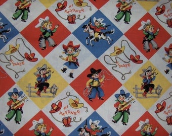 "Michael Miller 100% Cotton Fabric BTY - ""Yippee"""