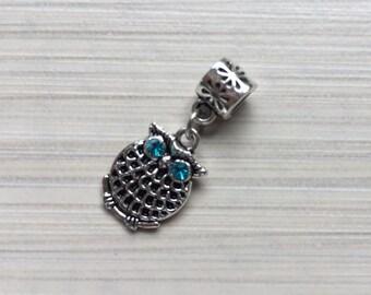 Owl Charms fit on Pandora bracelet