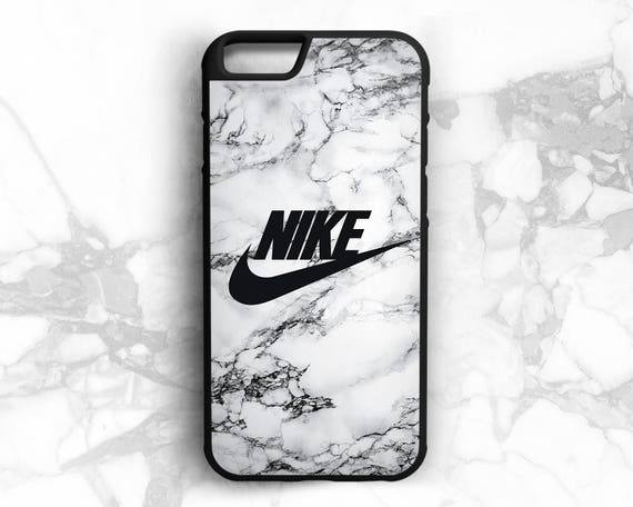 coque iphone 7 nike marbre