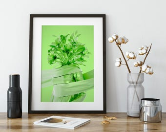 """Signed Art Print - """"The Green One"""""""