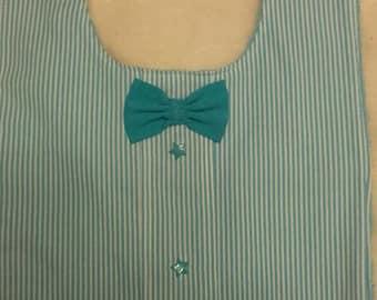 Baby boy bow tie 3 bib