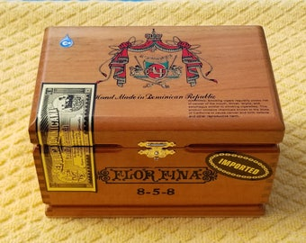 Handmade Wood Cigar Boxes, re-purpose them as unique packaging and much more!