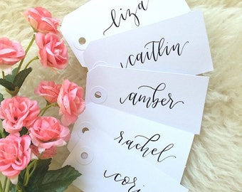 Custom Gift Tags | Birthday Gifts | Bachelorette Gifts | Party Favor | Custom Calligraphy | Holiday Gift Tags | Christmas Gift Tag