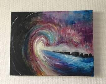 Acrylic Painting Wave LBNY