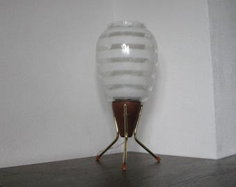 Rare 50's Philips Table lamp nr.4418 by Louis Kalff