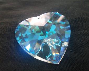 swarovski strass heart article 8781-40mm-crystal ab