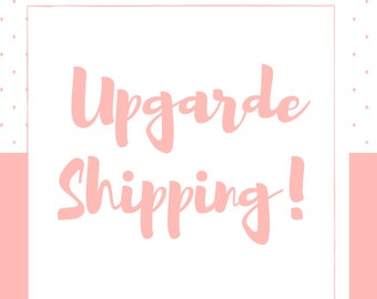 UPGRADE SHIPPING - Orders containing 1-2 items -