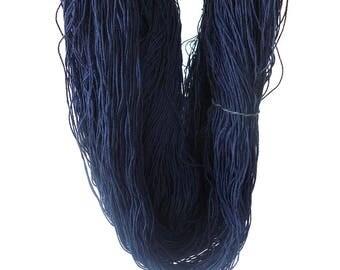 3/8 Italian Cotton Weaving Yarn ~ Midnight
