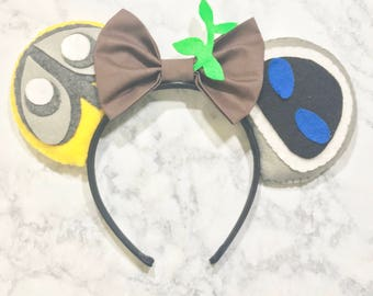 Walle & Eve mouse ears