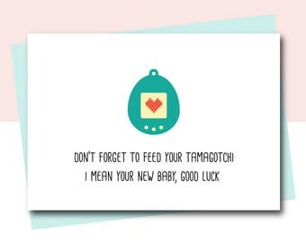 Funny New Baby Card, Congrats Baby Card, Congrats Pregnancy, Congratulations Baby, Birth Cards, Funny Baby Card, new mum card, new mom cards