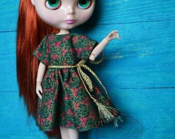 Blythe Dress, Blythe Clothes, Blythe Clothing, Blythe Outfit, Blythe, Blythe Crochet, Blythe Christmas Outfit