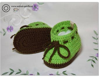 Crochet Baby Shoes / Newborn Baby Shoes / Crochet Baby Booties / Unisex Baby Booties / Baby Sneakers / Baby Boots / Baby Announcement / Gift