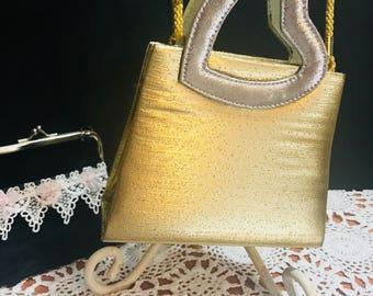 Vintage Warren Reed Gold purse
