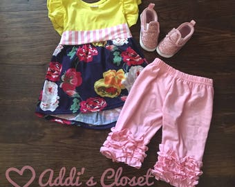 Yellow/Pink Floral