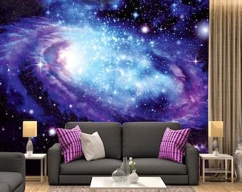 Digital Art, Series Galaxy, Name   The Creation_2 / Space Galaxy, Wall  Murals Part 63