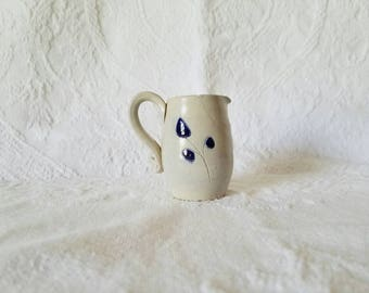 Vintage Mini Vase Handthrown Pottery / Williamsburgh Virginia Stoneware Pottery / Pottery / Mini Vase