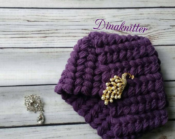 Knitted turban.Turban hat.Crochet turban.Winter beanie.Knitted hat.Women's turban.Fashion turban.Retro turban.Turban headwrap.Wool turban.