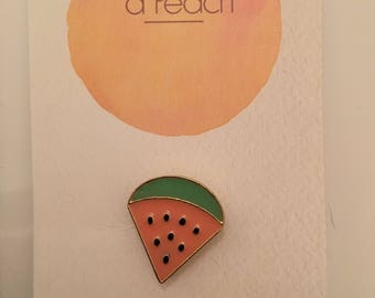 Watermelon Badge