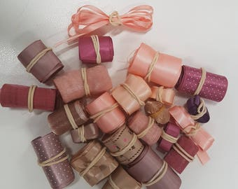 23 m assorted colors ribbon