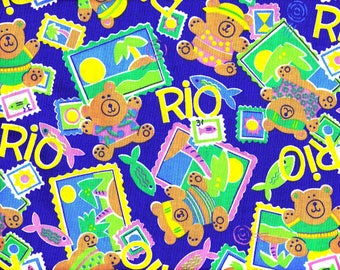 Rio Bear: Blue or Black