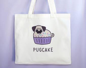 Pugcake Tote Bag