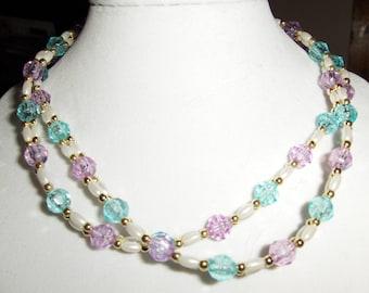Rice Bridges Combo necklaces