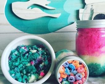 Fruit Loops Sugar Scrub | Gift Idea | Shower Favor | Exfoliating Scrub | Bath and Body Scrub | Stocking Stuffer | Christmas Gift