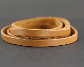 Camel - 6 mm - Premium leather strap