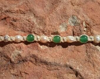 Jade bracelet * WaldElfe *-personalized bracelet, gift for you