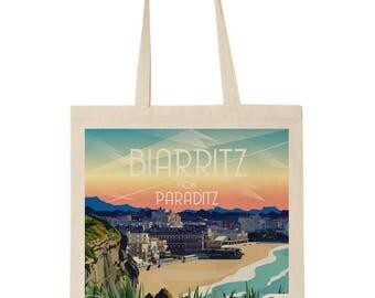 Tote bag Biarritz