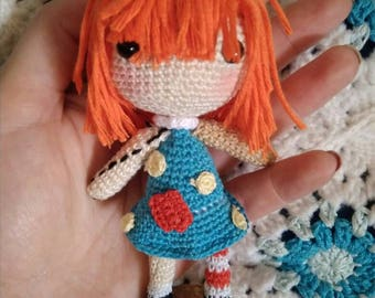Amigurumi Molly Coddle, Amigurumi, bump in the night, Ragdoll crochet, crochet doll, Amigurumi Ragdoll