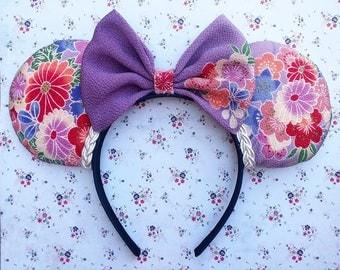 Vintage floral Ears