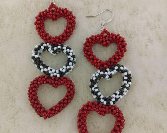 Triple Heart Dangles
