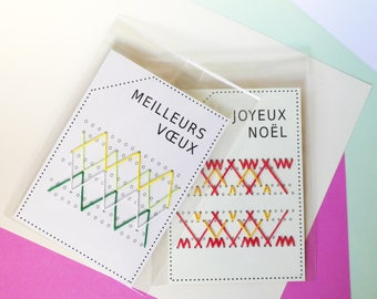 fun, embroidered and hand made and original greeting cards > > patterns to choose from