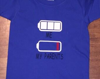 Me, My Parents energy shirt
