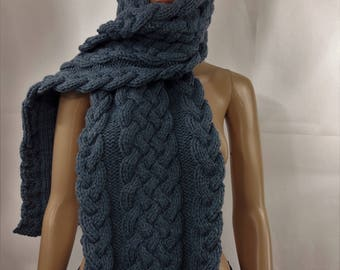wool scarf, knitted scarf, winter scarf man scarf woman scarf handmade scarf, scarf