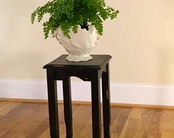 Plant Stand/Table | Chalk painted, wood, Chalk Painted, vintage, shabby chic, for sale, buy, Greenville SC