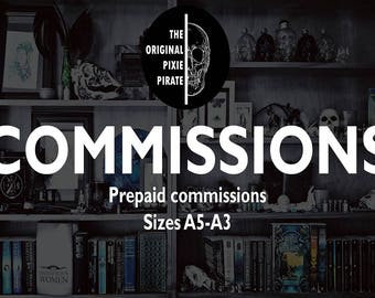 COMMISSIONS, A5-A4-A3