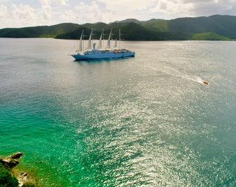Cruising in the British Virgin Islands