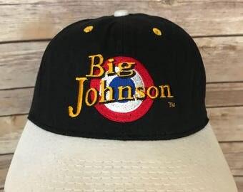 Vintage Big Johnson 85 Popper Snapback Hat