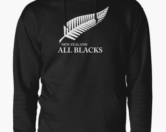 New Zealand All Blacks Men's Home hoodie jumper rugby 2015/16 world cup winner