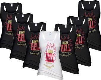 Raising Hell Bridal Tank Package-Wedding-Bachelorette Party