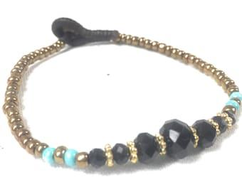 Bead Bracelet, Thai Bead Bracelet, Handmade, Fair trade,
